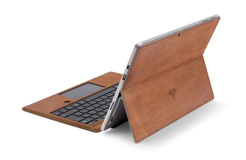 PC & Tablet Real Leather Honey