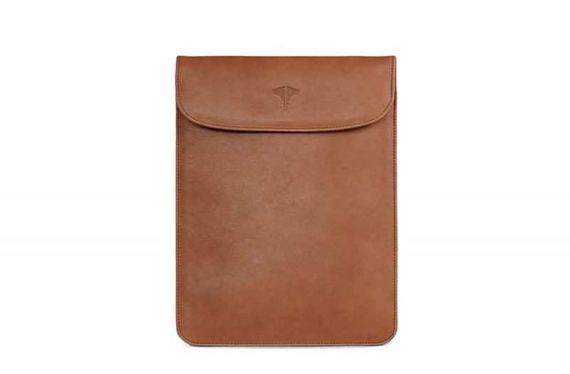 Tablet Bag Real Leather Honey