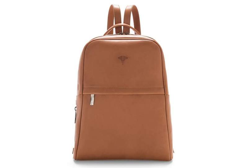 Backpack Real Leather Honey