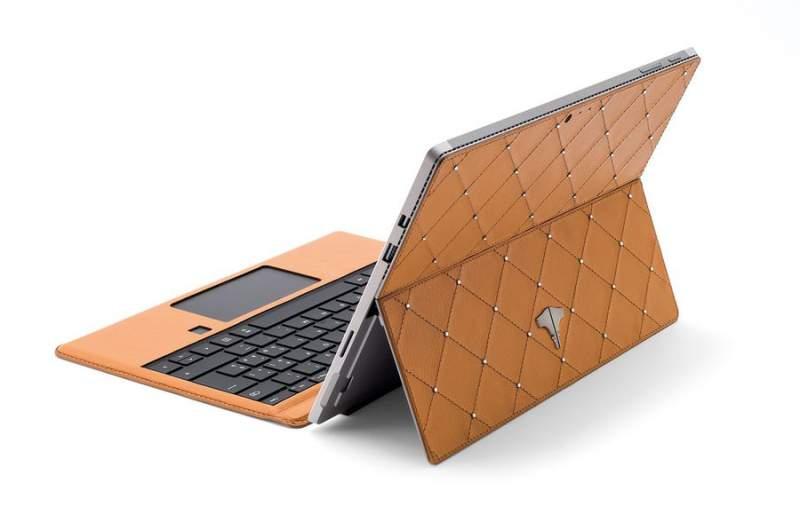 PC Tablet & Real Leather Ocra Swarovski