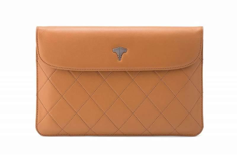 Tablet Bag Real Leather Ocra