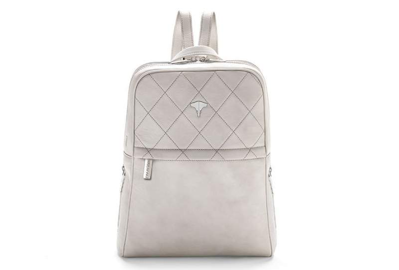 Backpack Real Leather Warm White