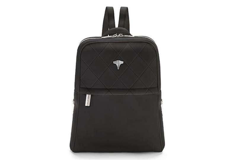 Backpack Real Leather Black